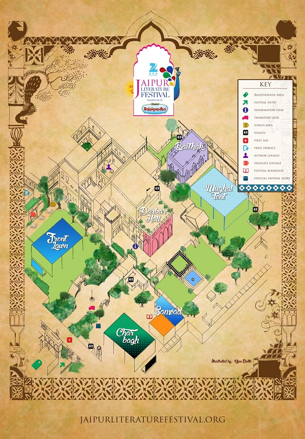 jaipur-literature-festival-venue-layout-jlf-diggi-house
