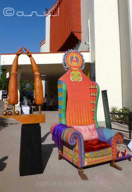 kathakali-chair-kanika-bawa-jaipur-art-summit-2016-jaipurthrumylens