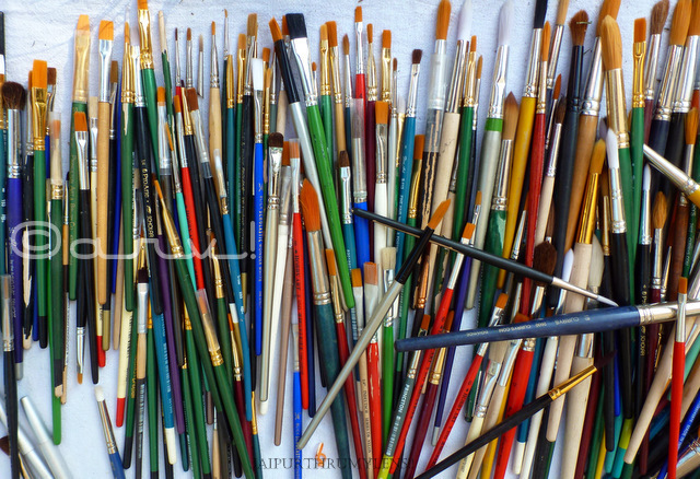 paint-brushes-artist-jaipur-art-summit-jaipurthrumylens
