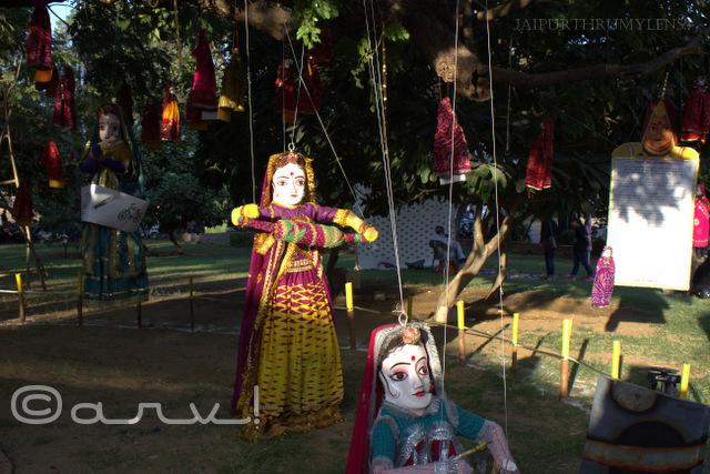 vrinda-haldia-uma-kant-meena-kathputli-puppet-displat-at-jaipur-art-summit-jaipurthrumylens