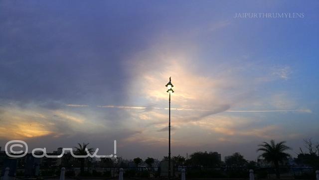 illuminate janpath skywatch friday clouds rain in jaipur jaipurthrumylens
