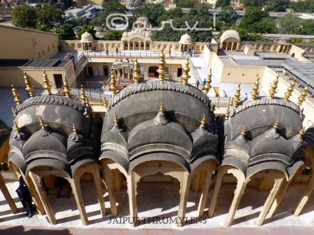 view from the top of hawa mahal jaipur jaipurthrumylens