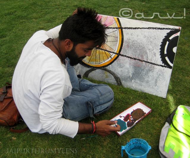automobile art at cartist jaipur