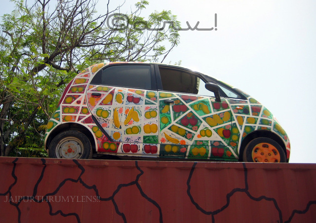 automobile-art-tata-nano-hand-painted-by-artist-jaipur-cartist-2017