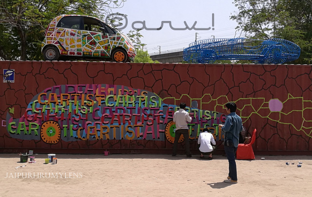 cartist jaipur painting shipping hq container