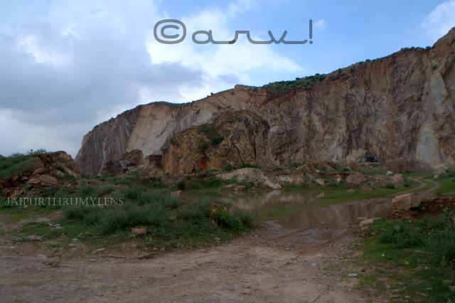 illegal mining mafia near jaipur
