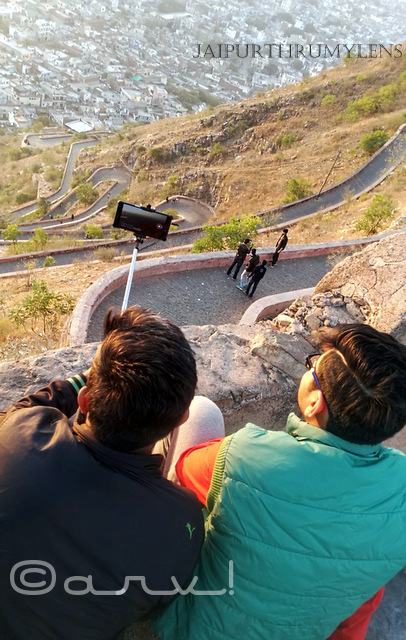 sunrise-point-jaipur-nahargarh-fort-selfie