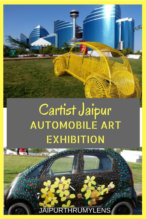 Cartist Jaipur Automobile Art Exhibition Himanshu Jangid Jaipurthrumylens #art #automobile #jaipur #cartist #painting