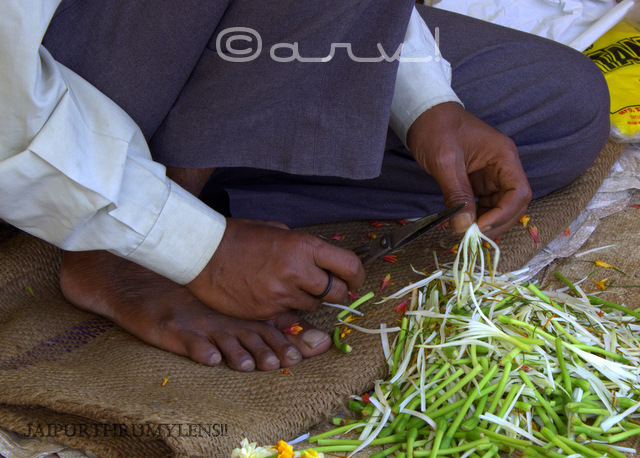 choti-chaupar-flower-seller-preparing-for-the-day-jaipur-photo-walk