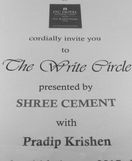 pradip-krishen-the-write-circle-jaipur-itc-rajputana-sheraton