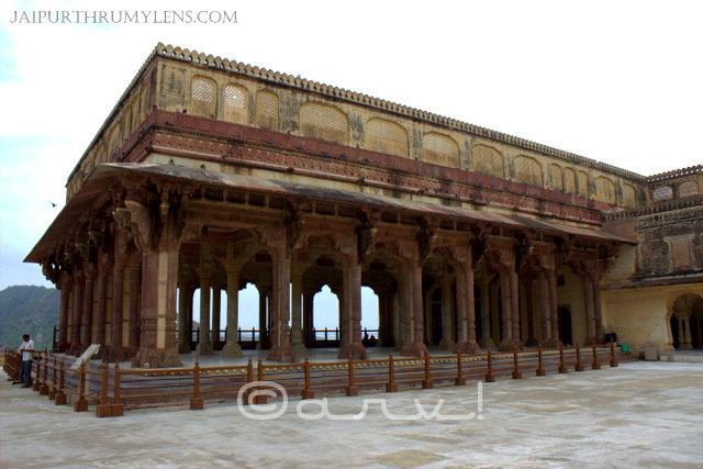 diwan-e-aam-amer-fort-jaipur-rajput-architecture