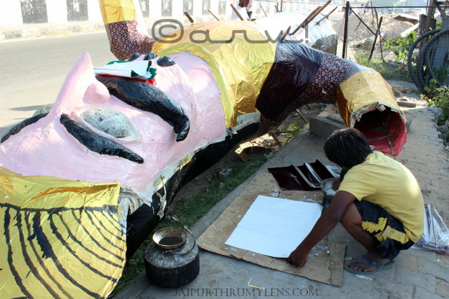 ravana-making-photo