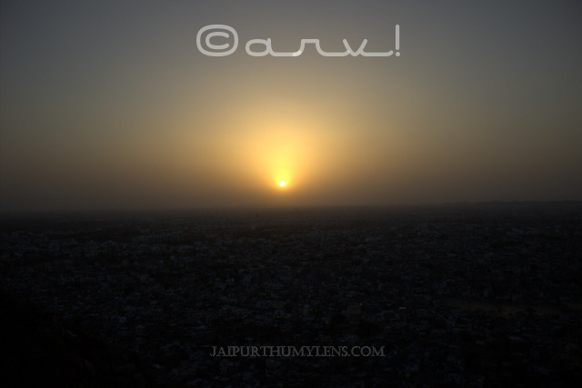 sun-set-point-in-jaipur-nahargarh-fort-image