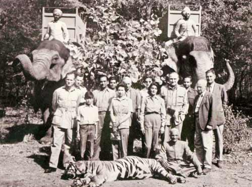 gayatri-devi-jaipur-hunting-party