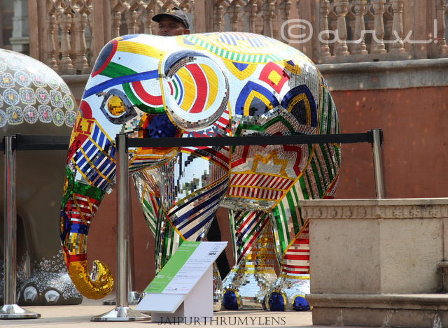 painted-elephant-parade-albert-hall-museum-jaipur