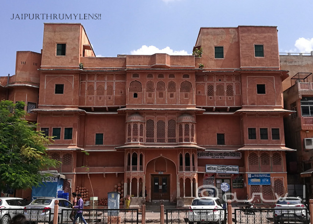 rajasthan-architecture-features-rajput-style-jaipur-buildings-haveli