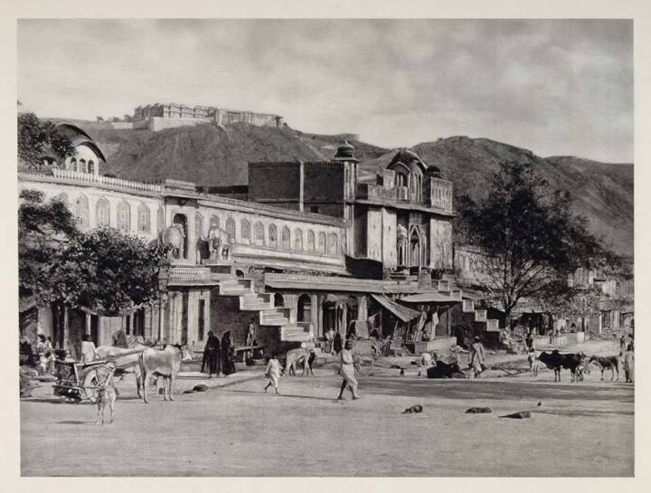 jaipur-old-photo-vintage-choti-chaupar-martin-hurlimann-gangori-bazaar