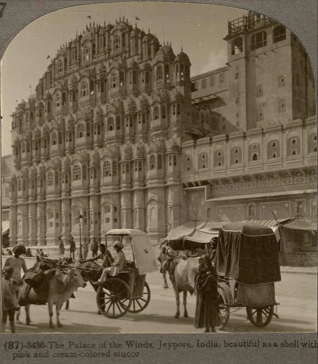vintage-picture-palace-of-wind-hawa-mahal-jaipur-old-photo