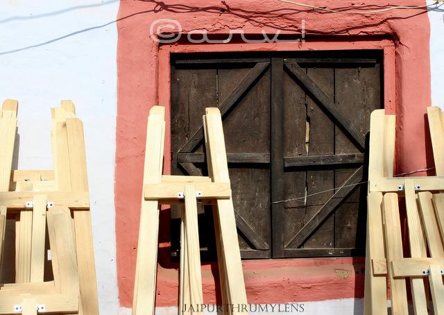 art window and easel photo kala mahotsav jaipur