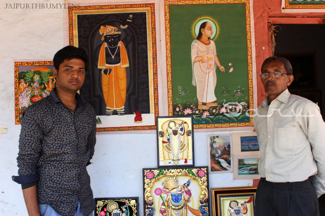 Pichhwai panting artists from Nathdwara Rajasthan