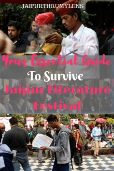 Your Essential Guide To Survive Jaipur Literature festival tips and tricks for jlf #jaipur #zeejlf #jlf #jaipurliteraturefestival #books #booklovers #jaipur #travel #literature #india #rajasthan #guide