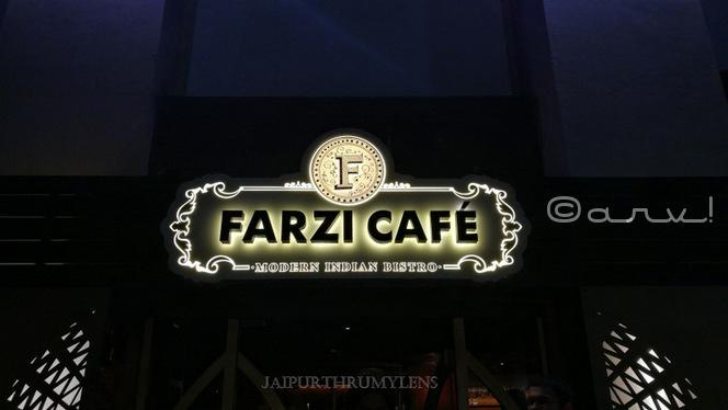 Farzi Cafe Jaipur Reveiw