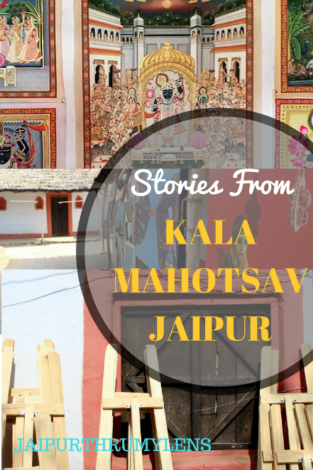 stories of real artist from Jaipur kala Mahotsav Shilpgram