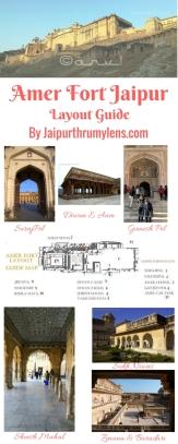 Amer Fort Jaipur Travel Guide Map