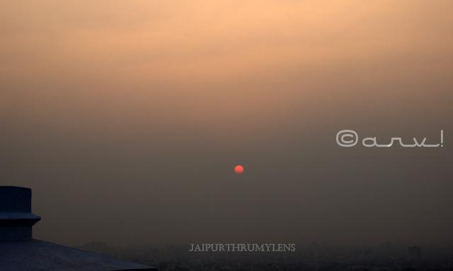 beautiful-sunset-jaipur-sun-temple-picture-skywatch-friday