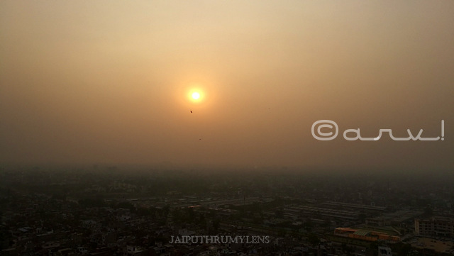 sunset-in-jaipur-sun-temple-