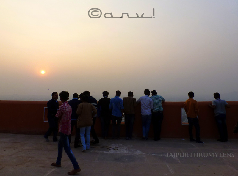 sunset-point-in-jaipur-sun-temple-Galta-gorge