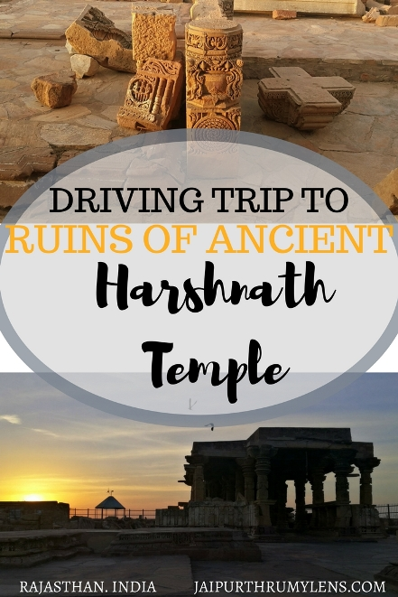 Short road Trip from Jaipur to ancient harshnath Temple in Rajasthan