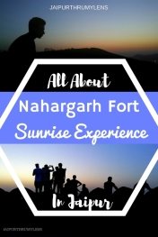 nahargarh-fort-sunrise-experience-jaipur #jaipur #travel #guide #nahargarh #fort #sunrise #India #Rajasthan #Nature