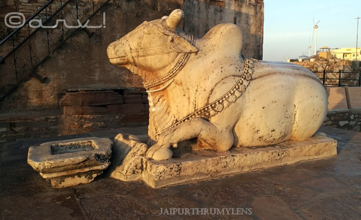 white-marble-nandi-bull-harshnath-temple-history