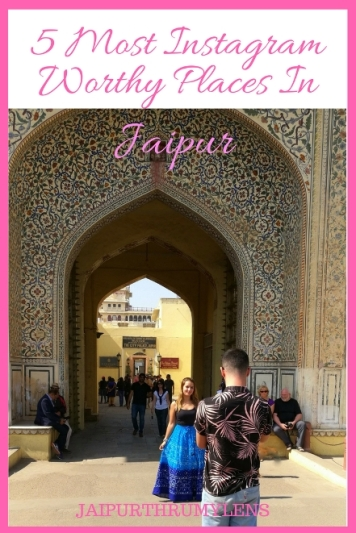 5 Most Instagram Worthy Places In Jaipur #travel #guide #Jaipur #instagram #rajasthan #India #tourist