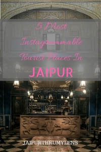 5 most instagrammable tourist places in Jaipur #travel #guide #rajasthan #india #jaipur #instagram