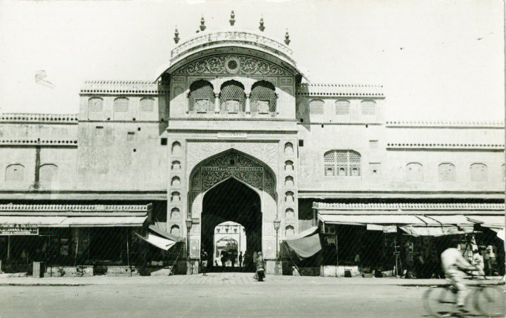 tripolia-gate-jaipur-bazaar-old-photo