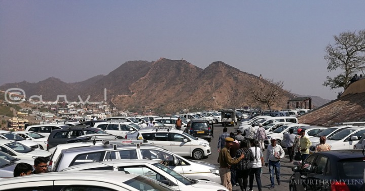 amer-fort-car-parking-entry-fee