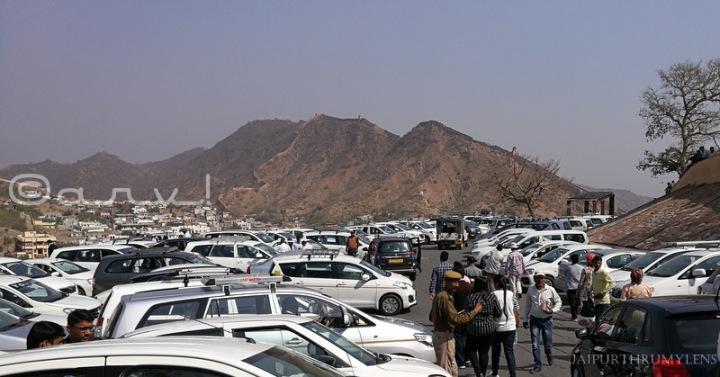 amer-fort-car-parking-entry-fee
