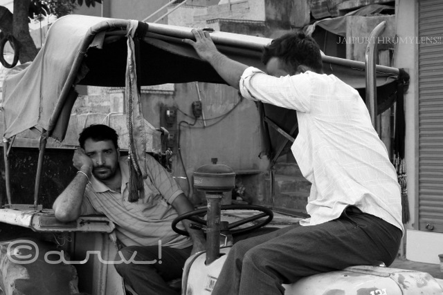 Bored/ Street Photography in Jaipur