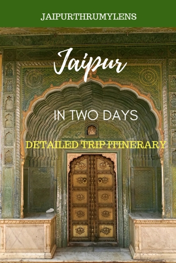 jaipur-Travel-guide-pdf-2-days #travel #guide #jaipur #tourism