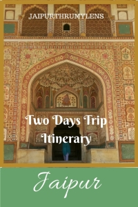 Jaipur two day trip itinerary.Pllaces to see and things to do #travel #guide #jaipur #tourism
