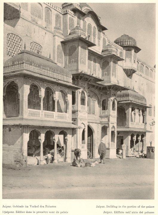 brij nidhi temple jaipur martin hurlimann indien 1928
