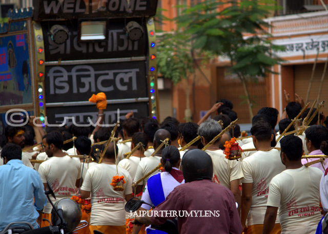 kanwariya-music-in-kanwar-yatra-jaipur-shiv-bhakt