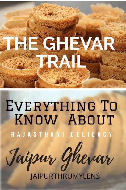 Rajasthani Ghevar in Jaipur