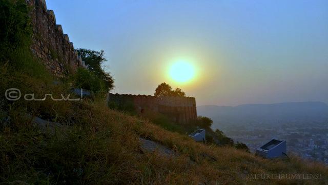 jaipur-sunrise-nahargarh-fort