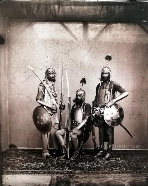 jaipur-army-soldiers-old-photo-sawai-ram-singh-2