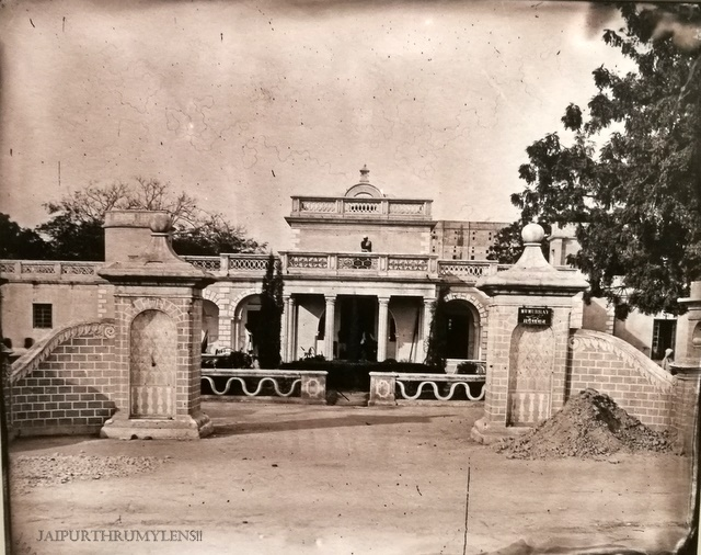 political-agent-home-residency-raj-mahal-palace-old-photo