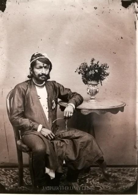 portrait-maharajah-sawai-ram-singh-ii-photo