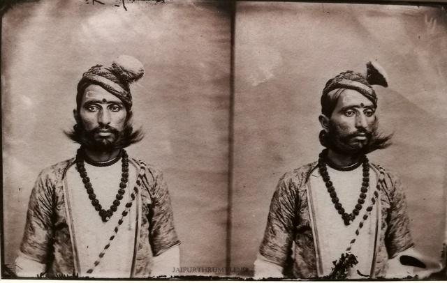 vintage-photo-rajput-noble-jodhpur-court-sawai-ram-singh-ii